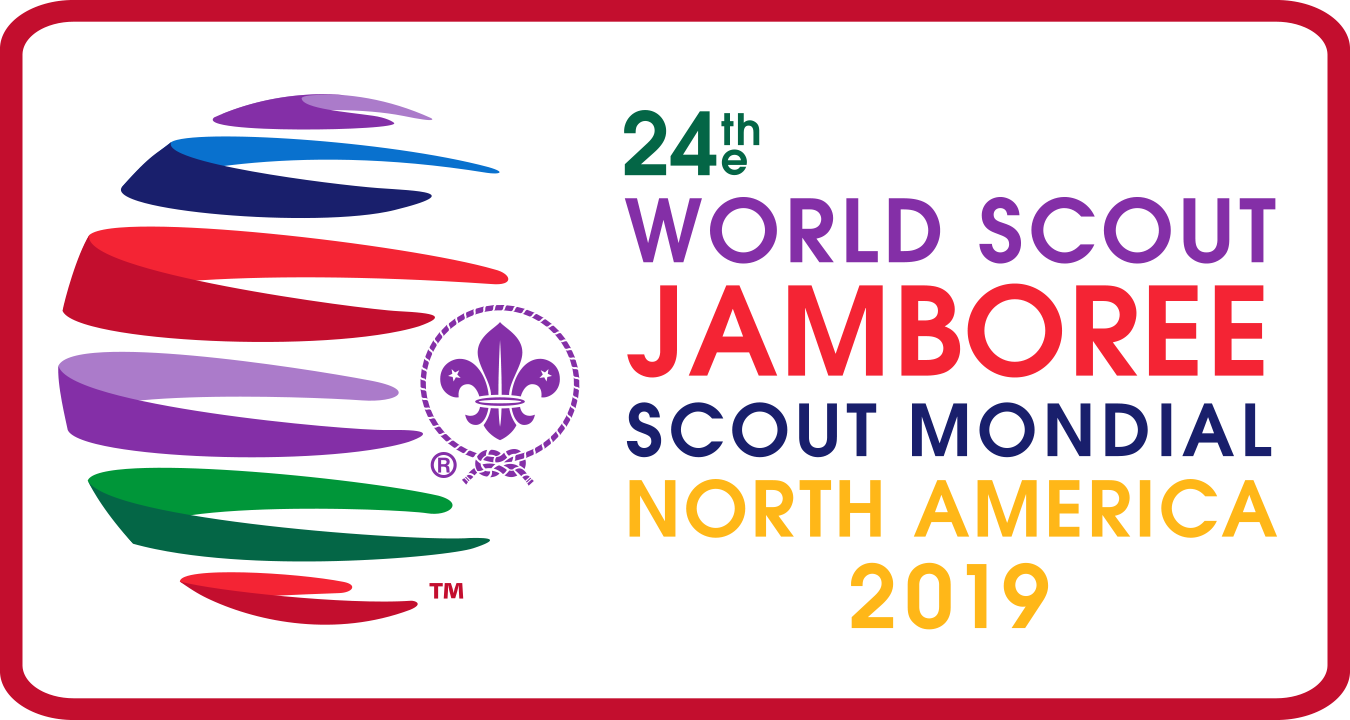 24th World Scout Jamboree Horizontal Logo