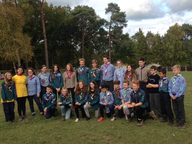World Scout Jamboree Tonbridge District Selection Camp